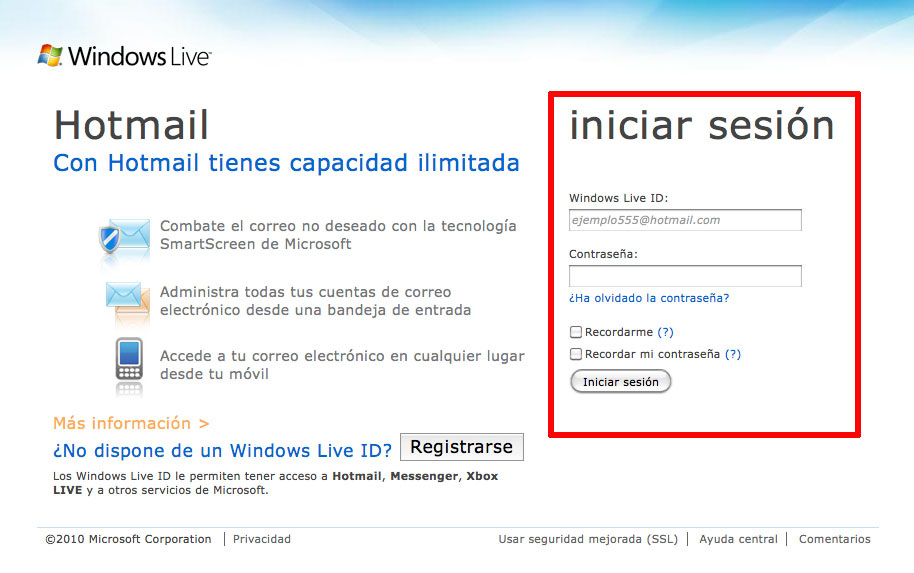 Come accedere a Hotmail Outlook? 1