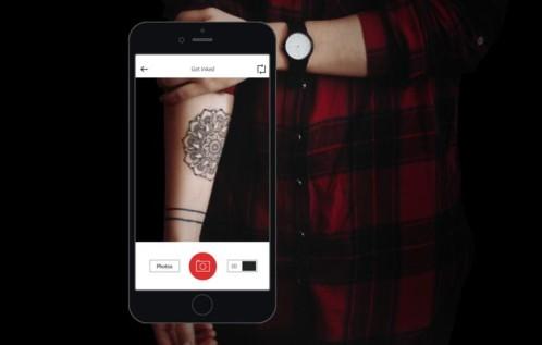 Scarica InkHunter per Android. Come sarebbe un tatuaggio sulla tua pelle? 1