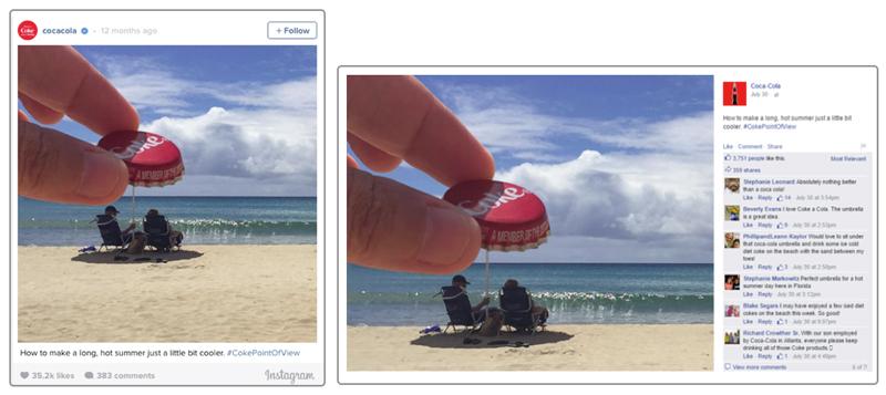Instagram offre risultati migliori ai marchi rispetto a Facebook 1