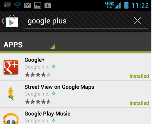 Come aggiornare Google+ all'ultima versione disponibile gratuitamente? Guida passo passo 1