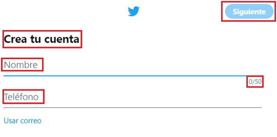 Come creare un account Twitter gratuito in spagnolo facile e veloce? Guida passo passo 2