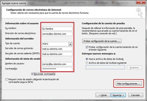 Come creare un account di posta elettronica Telefónica Movistar? Guida passo passo 6