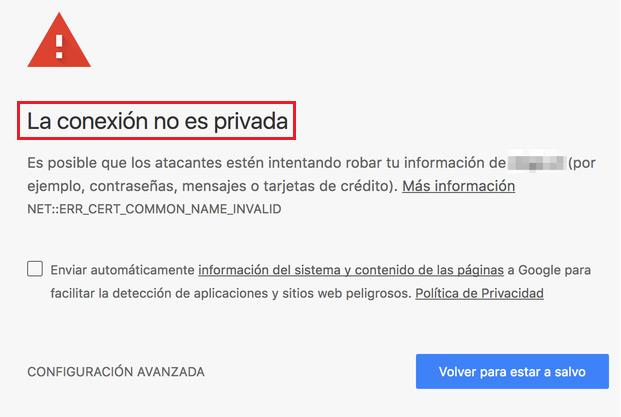 """Come si corregge l'errore """"La connessione non è privata"""" in Mozilla Firefox? Guida passo passo 1"""