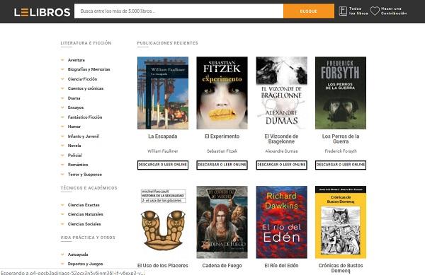 Quali sono le pagine migliori per scaricare libri digitali, ePub, eBook o PDF? Elenco 2019 32