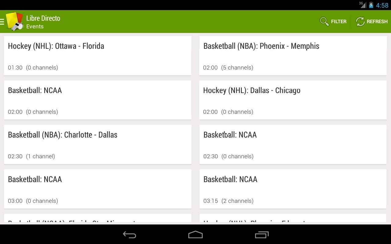 App diretta gratuita: la migliore app per guardare il calcio gratuitamente su Android 1