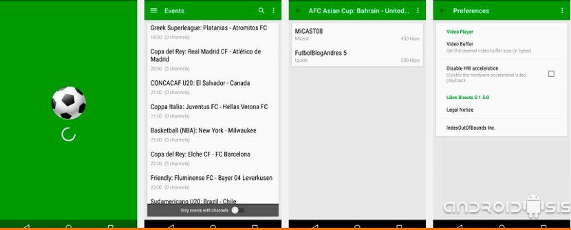App diretta gratuita: la migliore app per guardare il calcio gratuitamente su Android 2