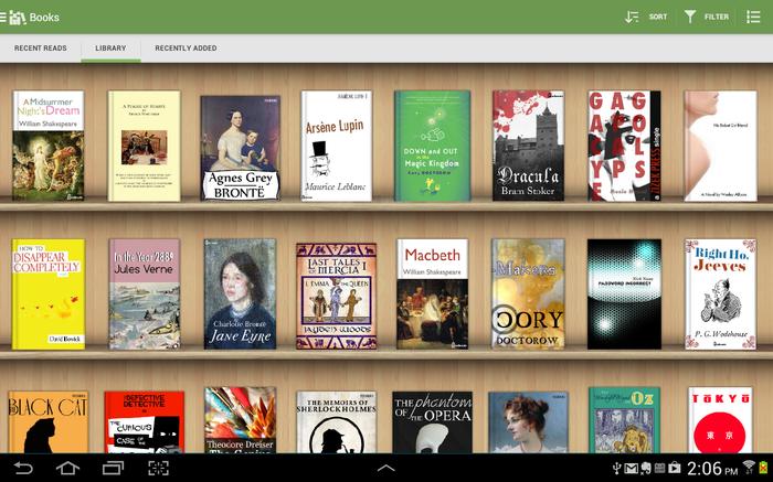 Scarica libri gratuiti per Android 1