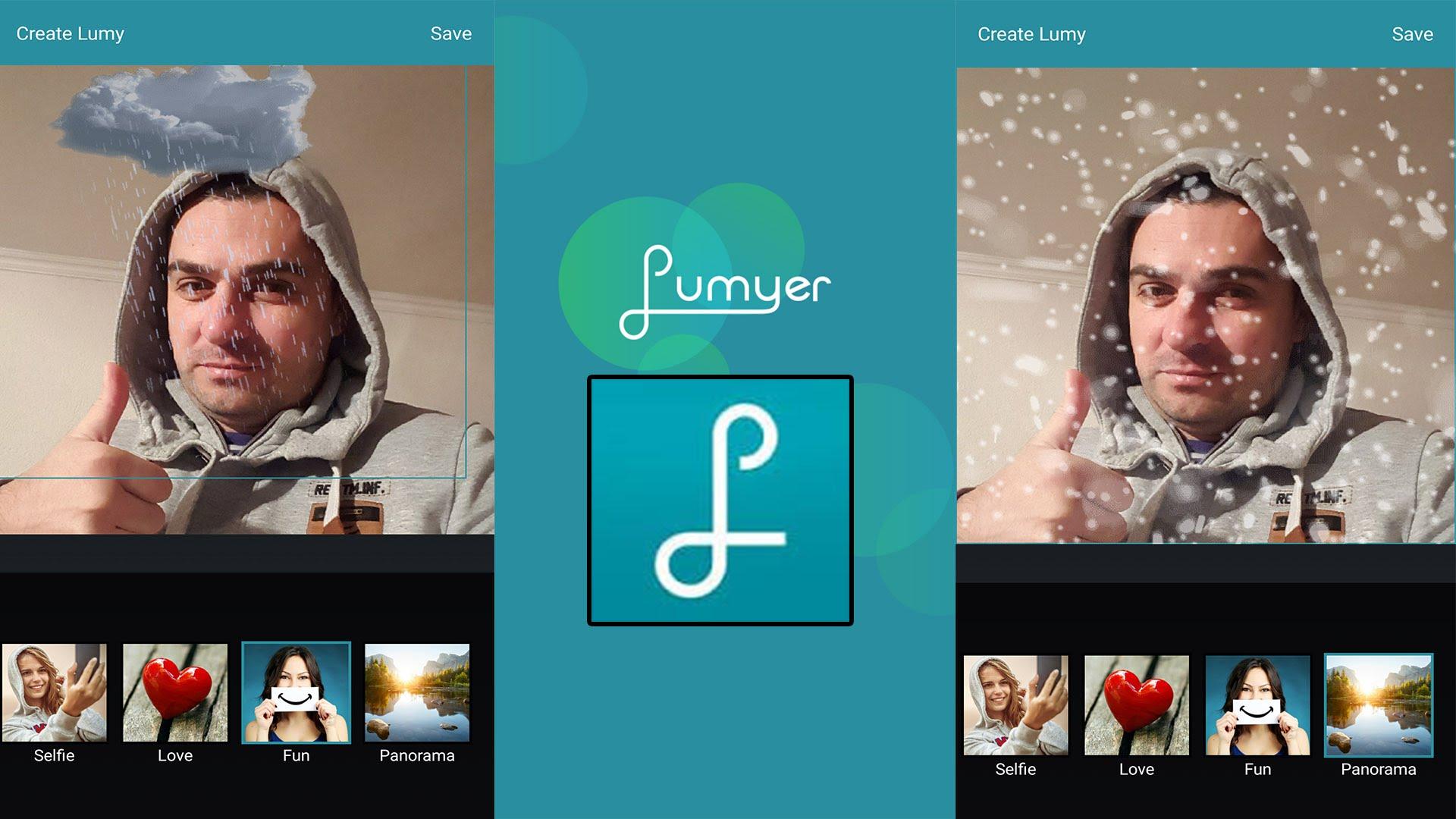 Scarica Lumyer per Android. Scatta foto con centinaia di effetti 2