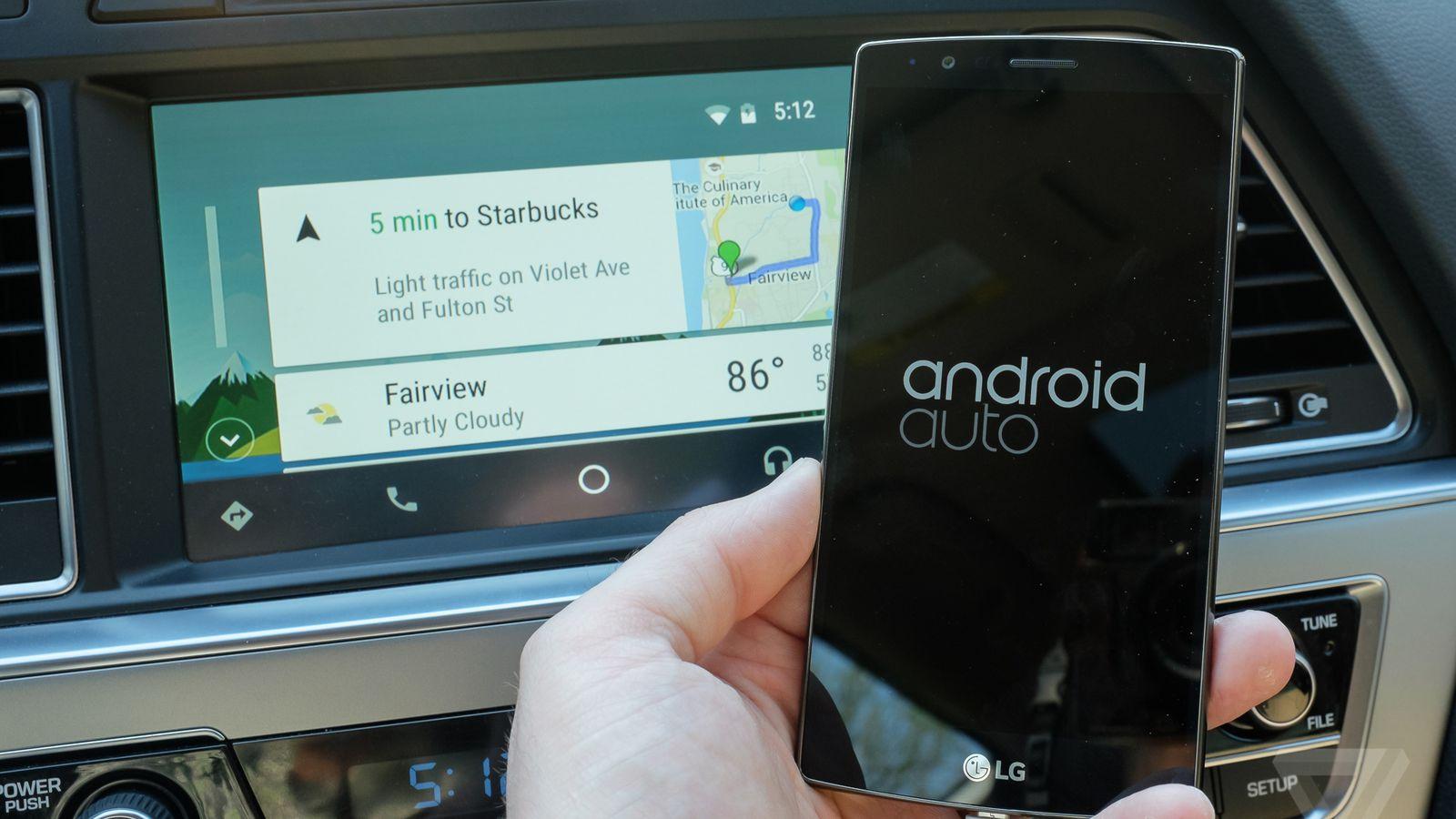 Mobile compatibile con Android Auto 1