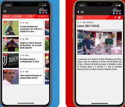 Quali sono le migliori applicazioni per guardare il calcio su iPhone gratuitamente dal vivo e senza tagli? 2019 9