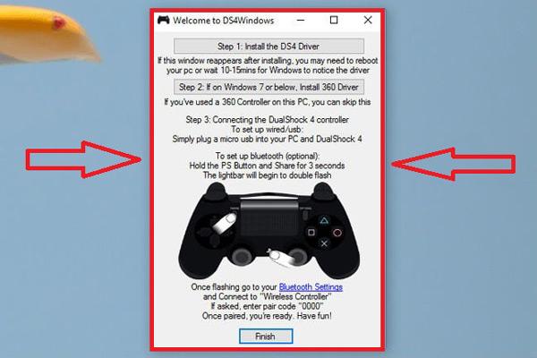 Come collegare il controller PS4 al PC per giocare sul computer? Guida passo passo 5