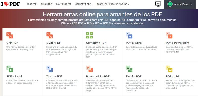 Come modificare i documenti PDF online con iLovePDF? Guida passo passo 3