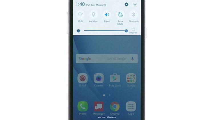 Come aumentare il segnale WiFi di un Samsung Mobile 1