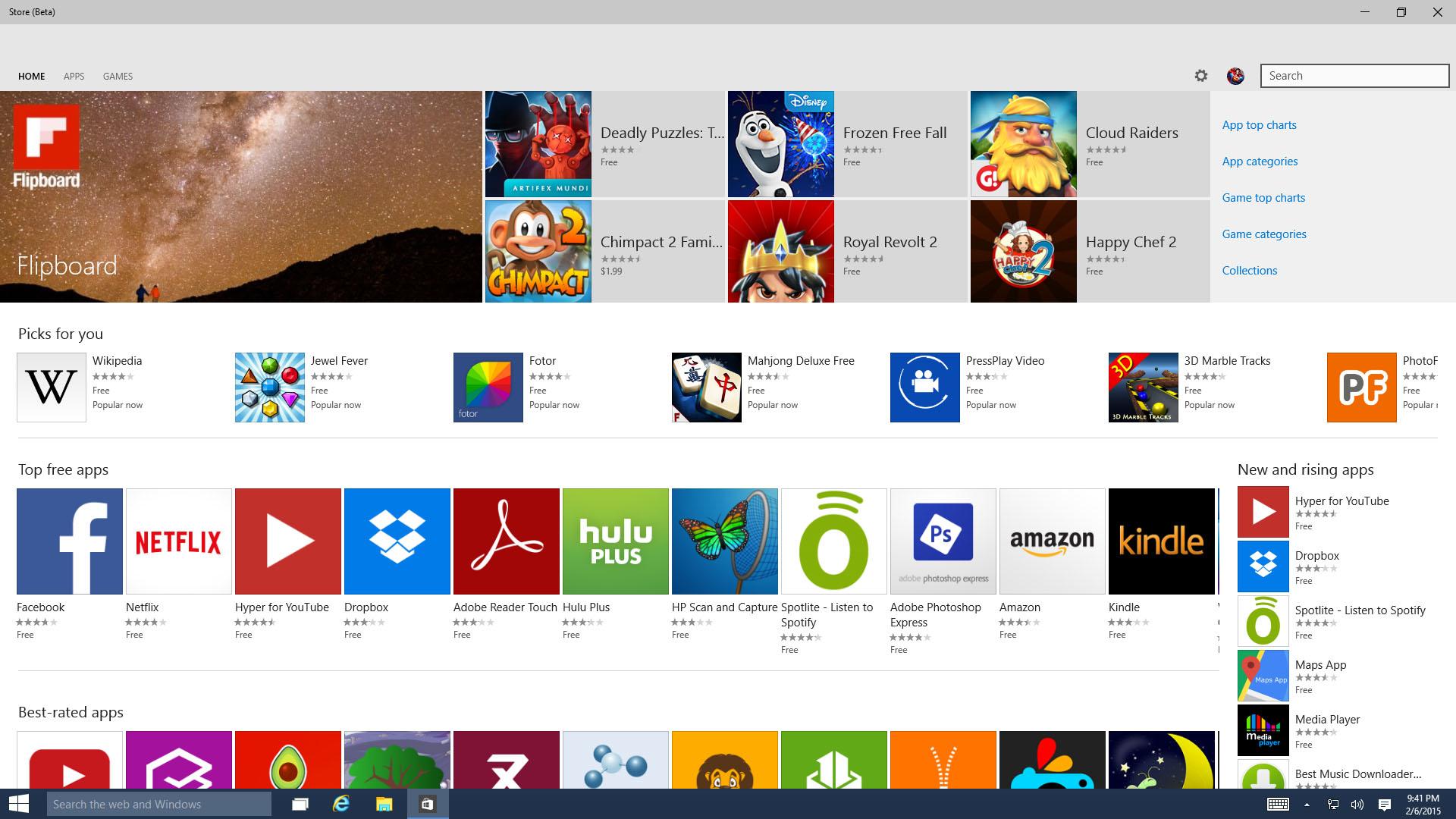 Le migliori applicazioni per Windows 10 1