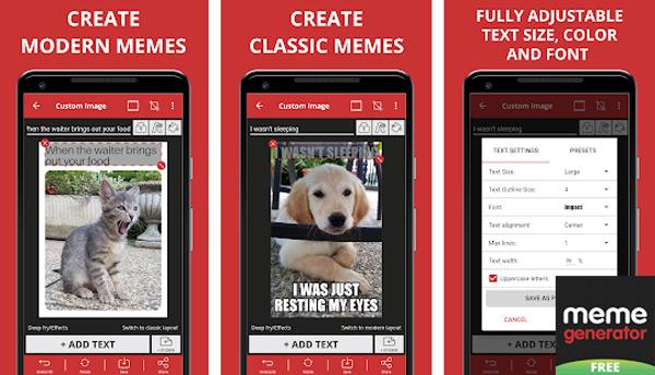 Quali sono le migliori applicazioni per creare meme con foto su Android e iOS? Elenco 2019 1