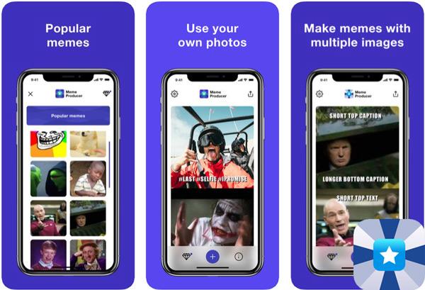 Quali sono le migliori applicazioni per creare meme con foto su Android e iOS? Elenco 2019 12
