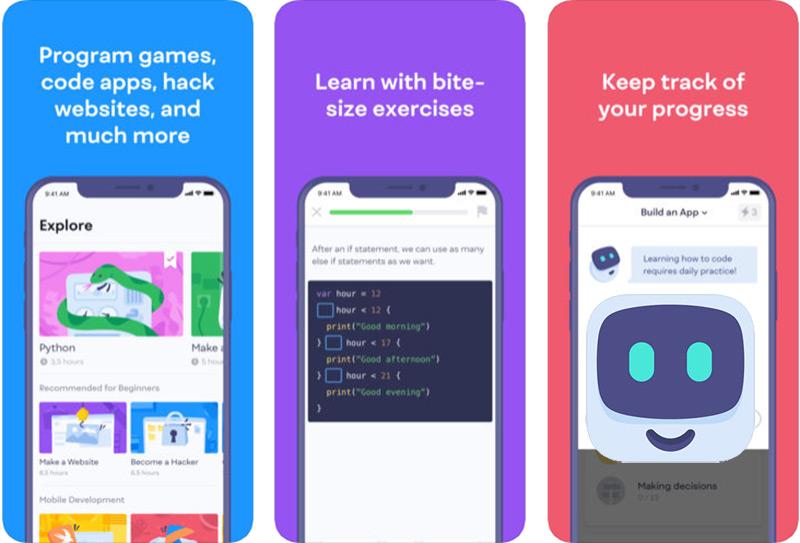 Quali sono le migliori applicazioni da imparare a programmare dal tuo cellulare? Elenco 2019 5