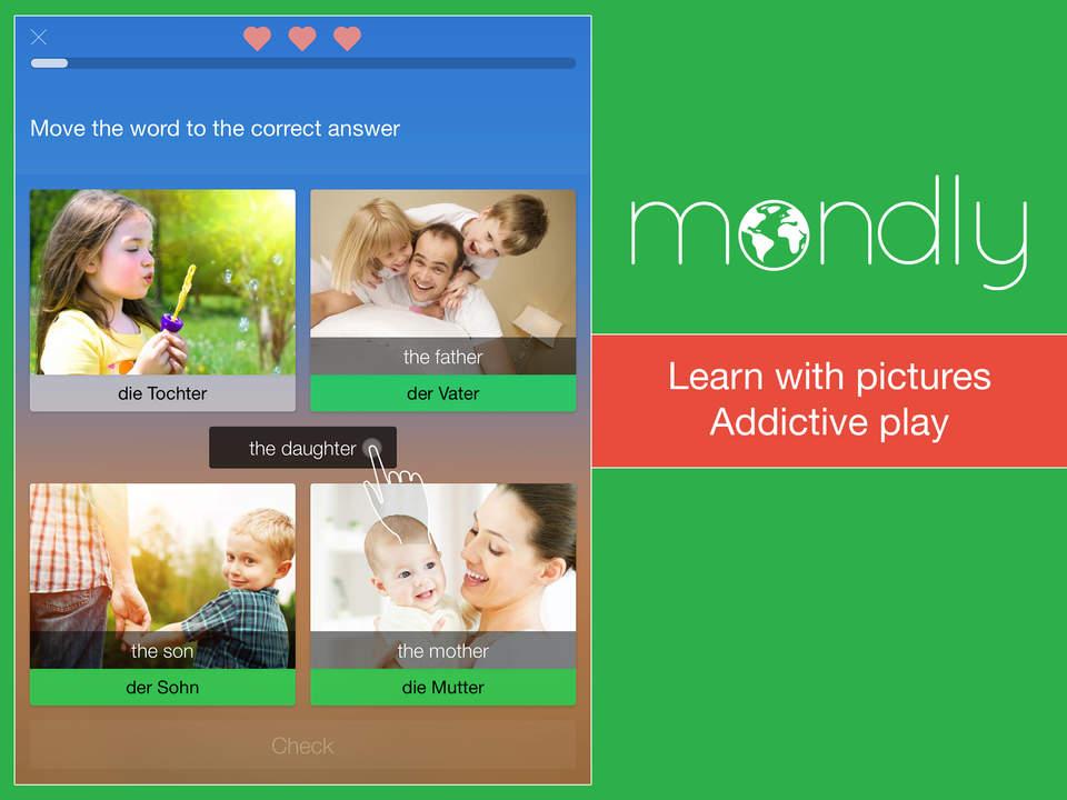 Mondly: 33 lingue diverse che puoi imparare 1