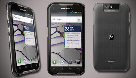 Come fare uno screenshot su Motorola Iron Rock 1
