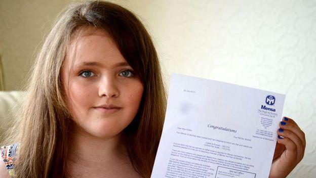 Nicole Barr: 12 anni e più intelligente di Albert Einstein 1