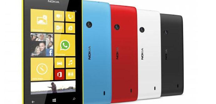 Come impostare Lock Pattern su Nokia Lumia 520 1