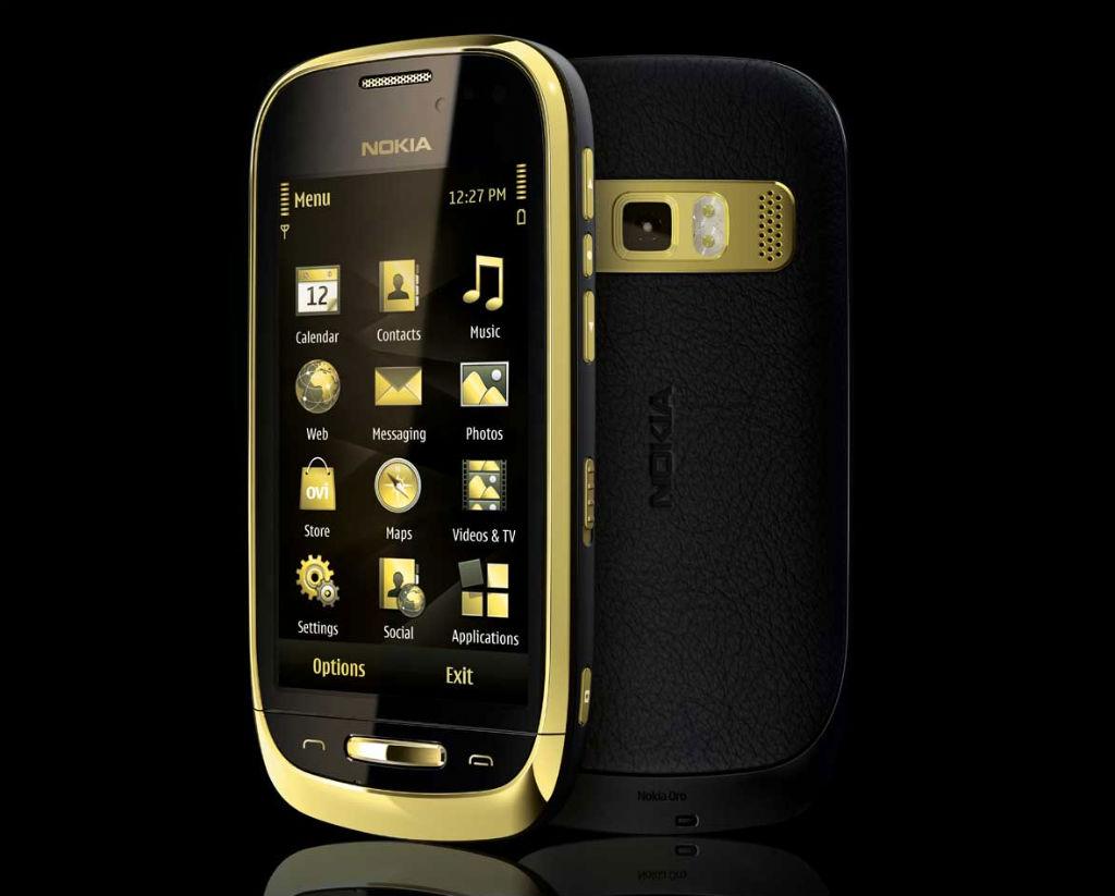 Scarica WhatsApp gratuitamente per Nokia Astound, murale, oro 3