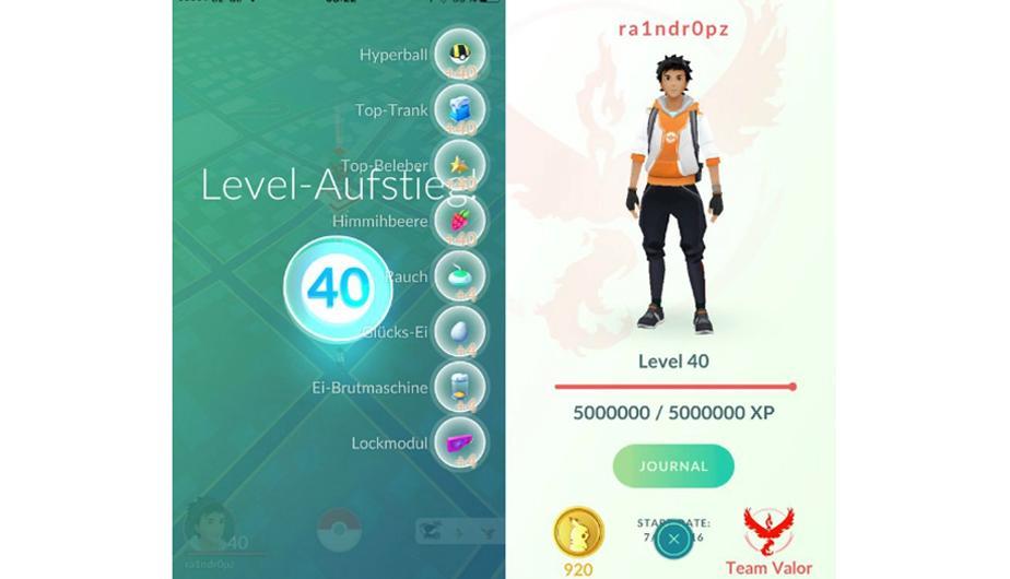 Il nuovo aggiornamento di Pokémon Go consentirà il livello 40 1
