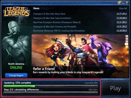 Come aggiornare manualmente League of Legends? Guida passo passo 1