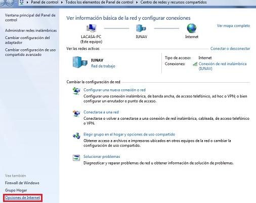 Opzioni Internet in Windows 10, 8 e 7: a cosa servono ea cosa servono? 15