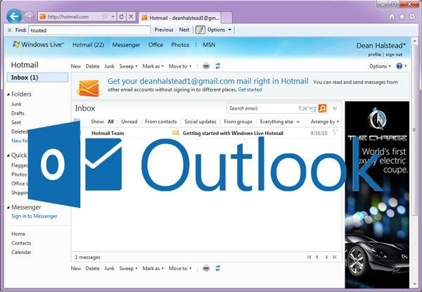 Accedi direttamente alla Posta in arrivo in Hotmail da un altro PC 3