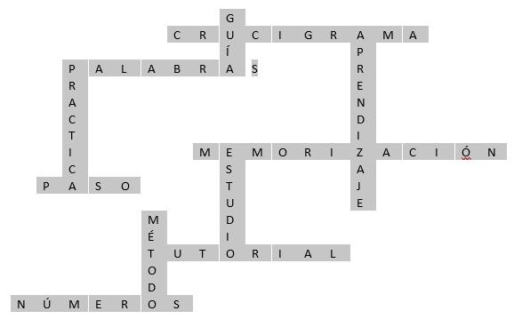 Come creare un cruciverba in Microsoft Word in modo rapido e semplice? Guida passo passo 8