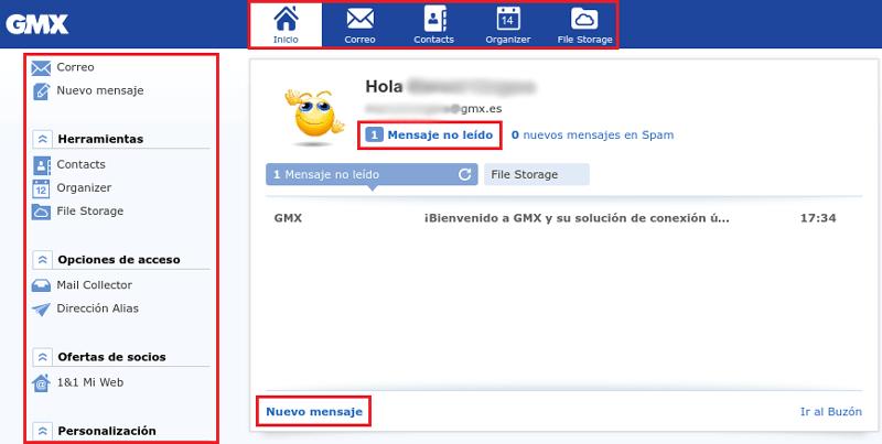 Come creare un account di posta elettronica GMX Mail gratuito? Guida passo passo 5
