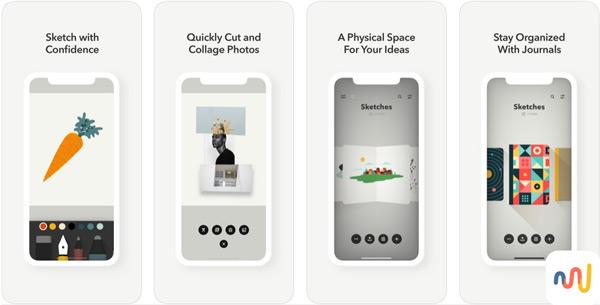 Quali sono le migliori applicazioni da disegnare su iPhone o iPad? Elenco 2019 44