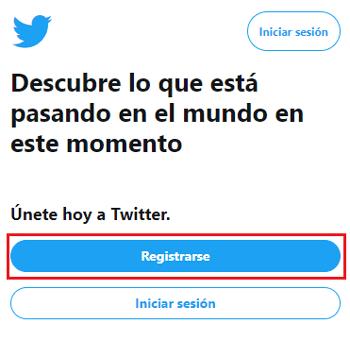 Come creare un account Twitter gratuito in spagnolo facile e veloce? Guida passo passo 1