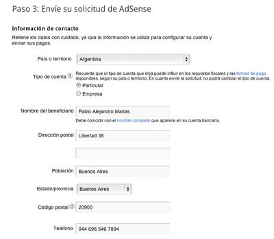 Come creare un account Google Adsense per siti Web e YouTube? Guida passo passo 4