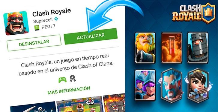Come aggiornare Clash Royale gratuitamente all'ultima versione? Guida passo passo 3