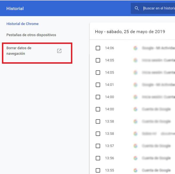 Cronologia di navigazione di Google Come visualizzare, configurare, eliminare e scaricare tutto? 14