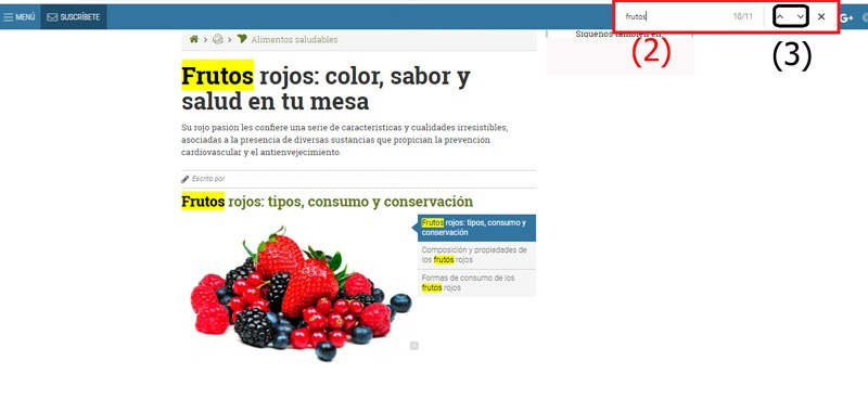 Come cercare una parola in una pagina Web semplice e veloce? Guida passo passo 1