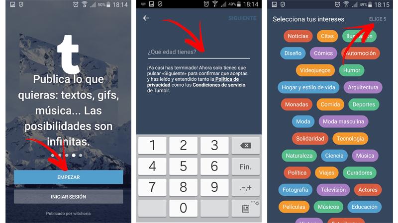 Come creare un account Tumblr in spagnolo facile e veloce? Guida passo passo 7