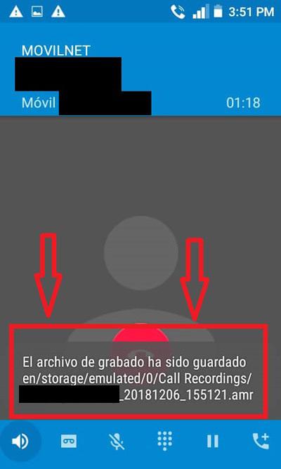 Come registrare una telefonata senza utilizzare le applicazioni da Android e iOS? Guida passo passo 4