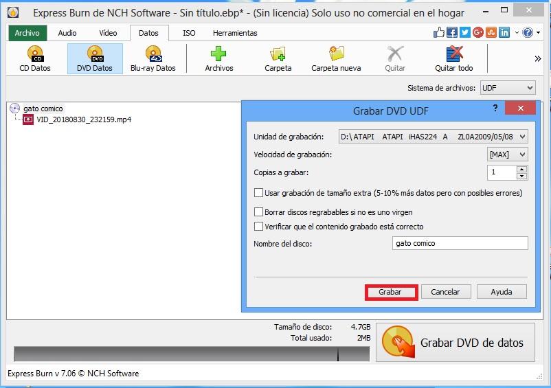 Come masterizzare un film su un DVD-RW con o senza programmi su Windows o Mac? Guida passo passo 13