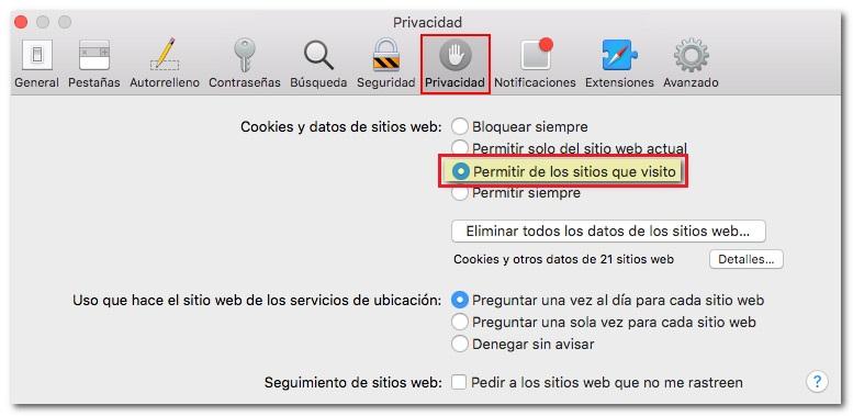 Come abilitare o disabilitare i cookie da tutti i browser? Guida passo passo 9