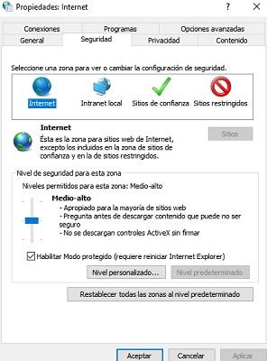 Opzioni Internet in Windows 10, 8 e 7: a cosa servono ea cosa servono? 2