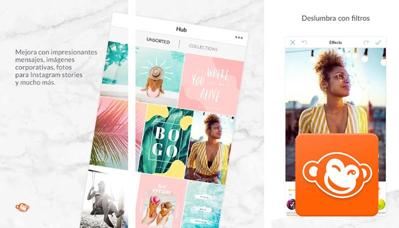 Quali sono le migliori applicazioni per modificare foto e immagini gratuitamente per Android e iPhone? Elenco 2019 9