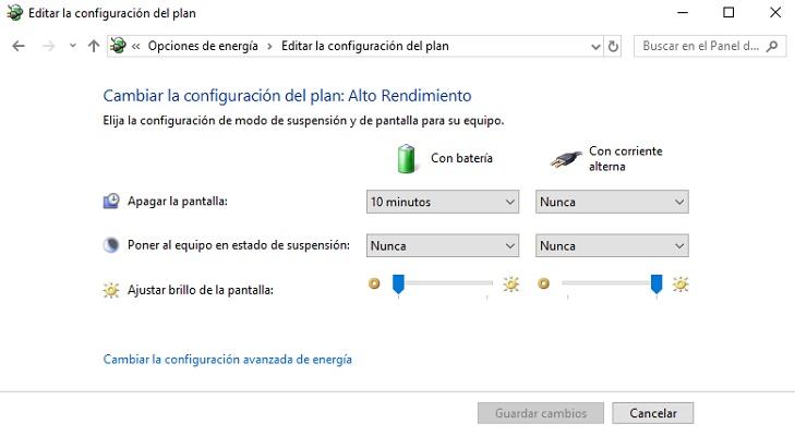 Come disabilitare il risparmio energetico in Windows 10 e configurarlo correttamente? Guida passo passo 5