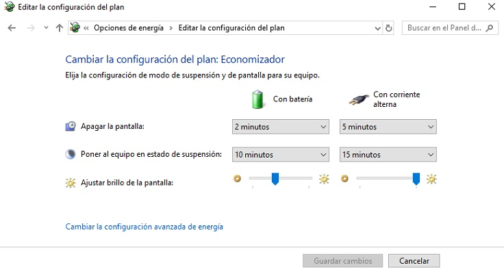 Come disabilitare il risparmio energetico in Windows 10 e configurarlo correttamente? Guida passo passo 3