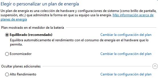 Come disabilitare il risparmio energetico in Windows 10 e configurarlo correttamente? Guida passo passo 2