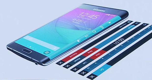 Inserisci Music Player sul pannello laterale Samsung Edge 2