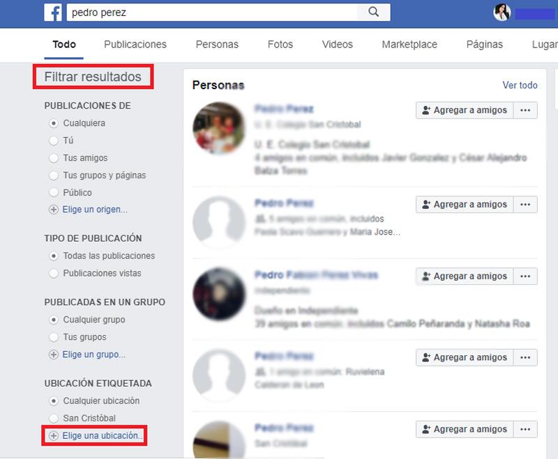 Come cercare nuovi e vecchi amici su Facebook? Guida passo passo 6