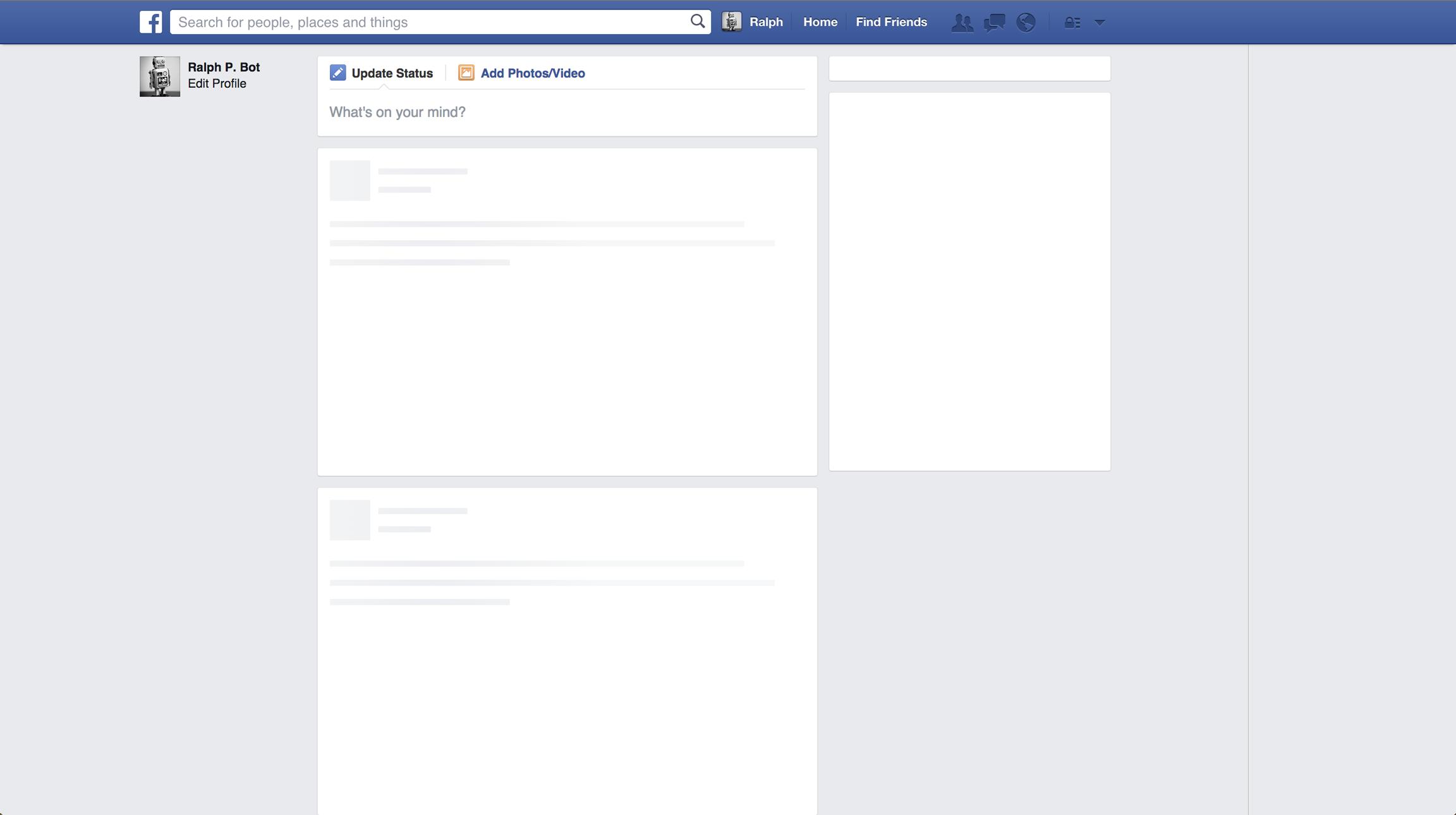 Perché Facebook sta caricando? 1